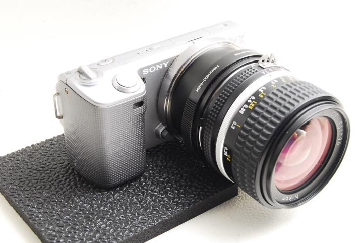 Sony-α NEX5でNikon AI-S Nikkor 28mm F2.8レンズを装填