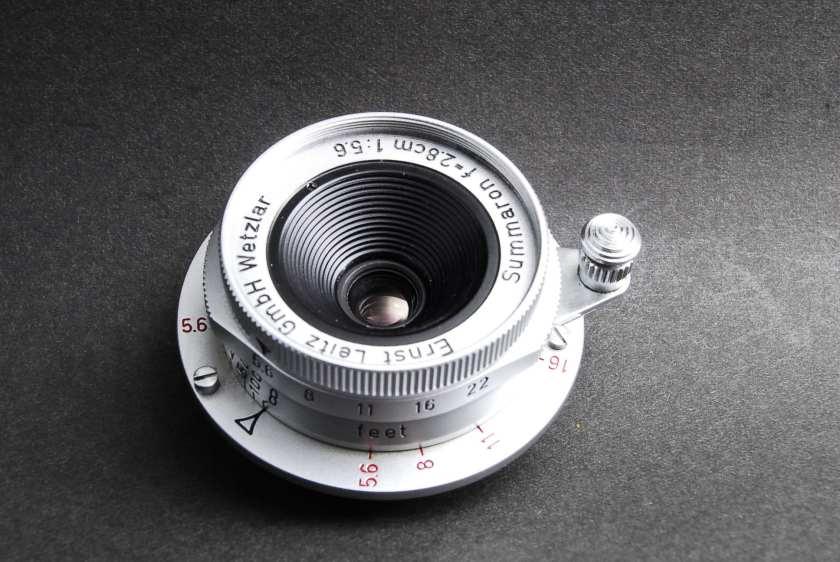 Leitz Summaron 28mm F5.6 Lens Repair Textbook