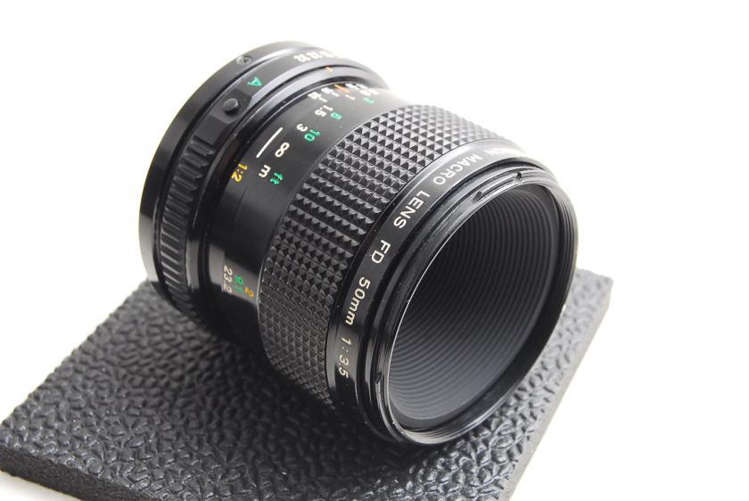 Canon FD 50mm F3.5