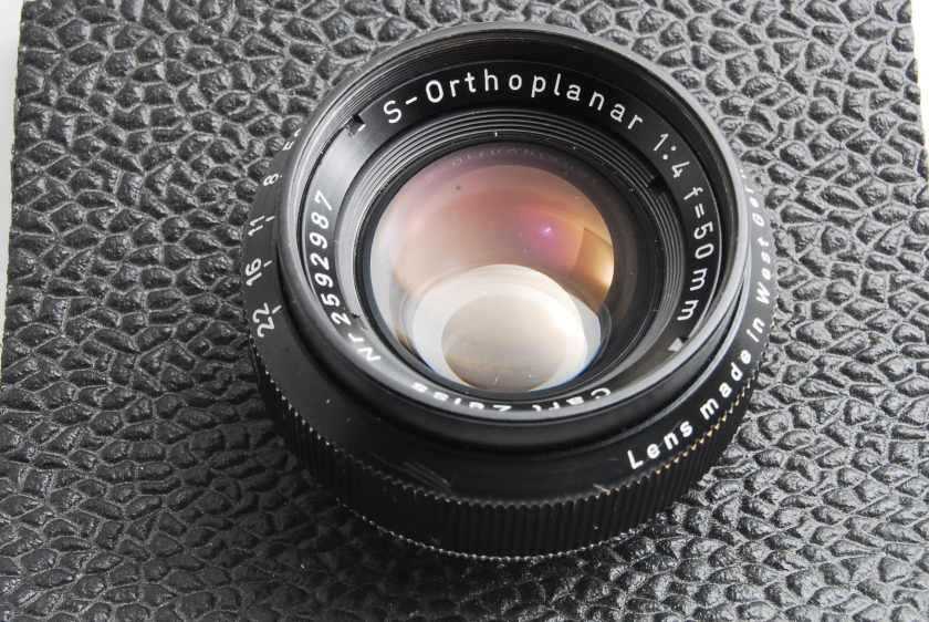 Carl Zeiss S-Orthoplanar 50mm F4