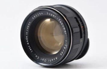 Asahi super takumar f1.8 55mm 初期型