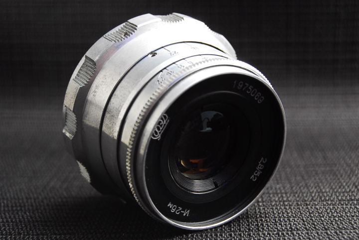 FED И-26M 52mm F2.8 L39マウント②