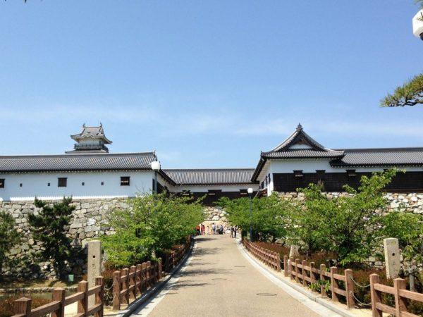 Imabari castle2