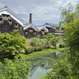 Kyoto Fushimi Sake brewery area
