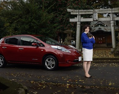 Portrait photography in Tokyo: Nissan LEAF Owner for the 2015 COP21 Climate Talks