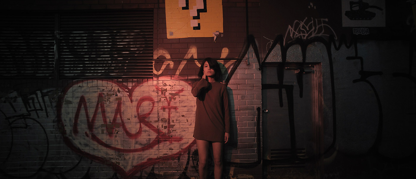Cup ramen shooting: a cinematic Norie in Shibuya