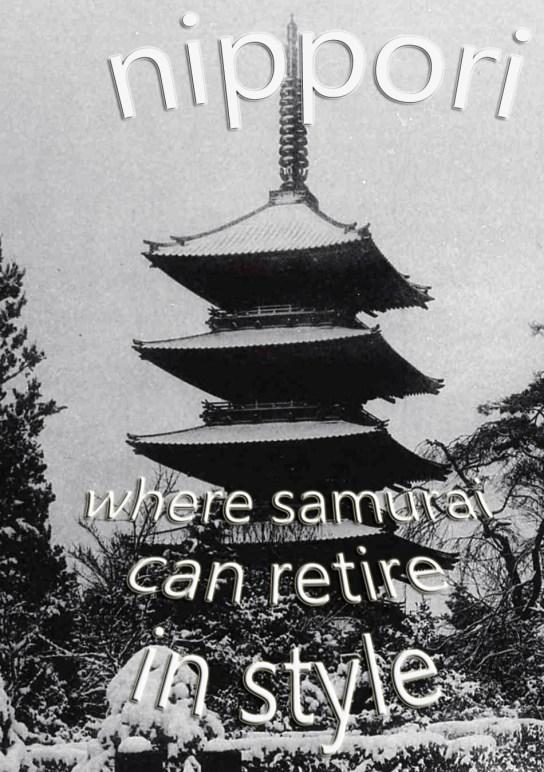 the origin of nippori's is deep in tokyo's history