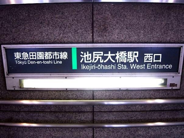 LAKE ASS BIG BRIDGE STATION IN SETAGAYA