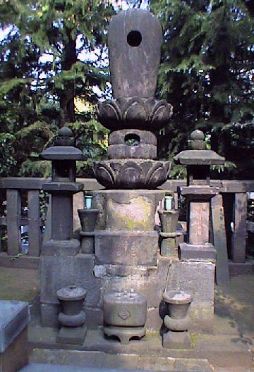 grave of kasuga no tsubone