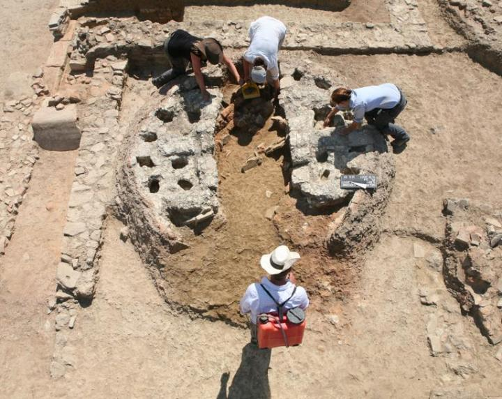 kiln excavation