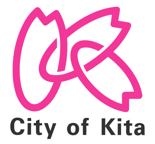 Kita-ku's logo is a Pink K.
