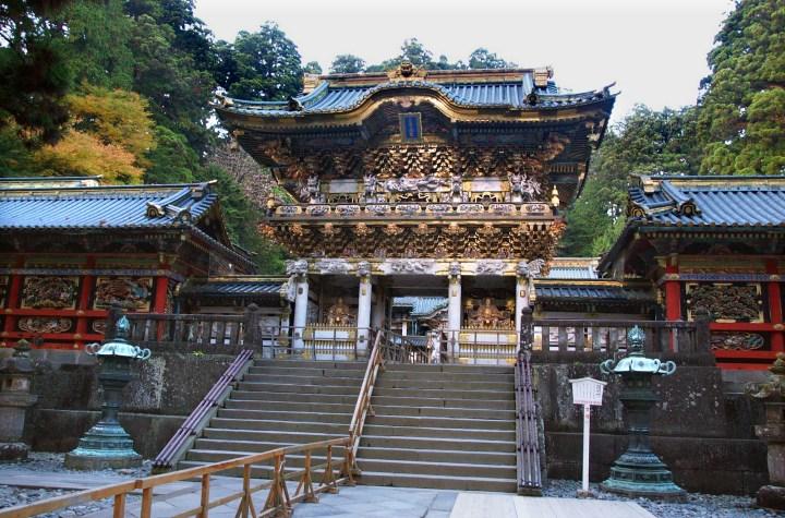 Main gate of Nikko Toshogu.