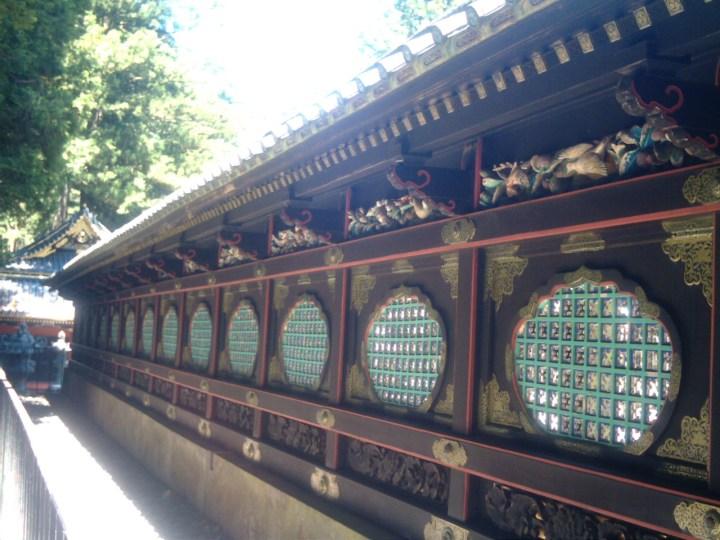 Sukibei (latticework fence) at Taiyu-in.