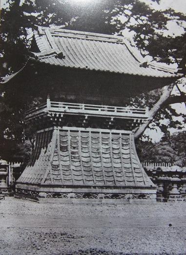 Bell tower - bunshoin tokugawa ienobu grave