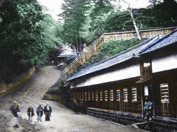 Living in the suburbs of Edo was nice. Rustic, but nice. Repeat to yourself, the Yamanote was forested like most of Japan was.
