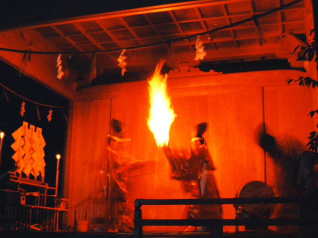 The Akiha Fire Festival. Where Shinto priests play with fire inside wooden structures. Ummm... ok...