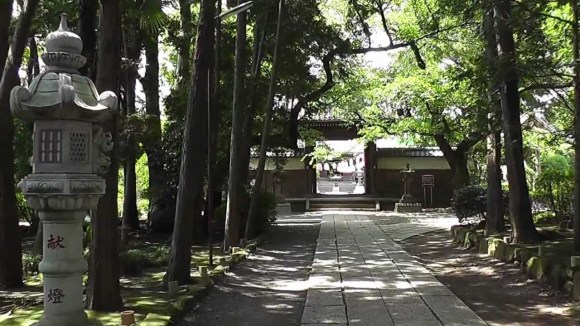 The family temple at Keigen-ji.