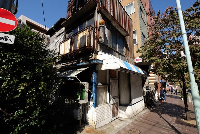 Even the yamanote (high city/samurai areas) of Azabu have shitamachi (low city/commoner areas)