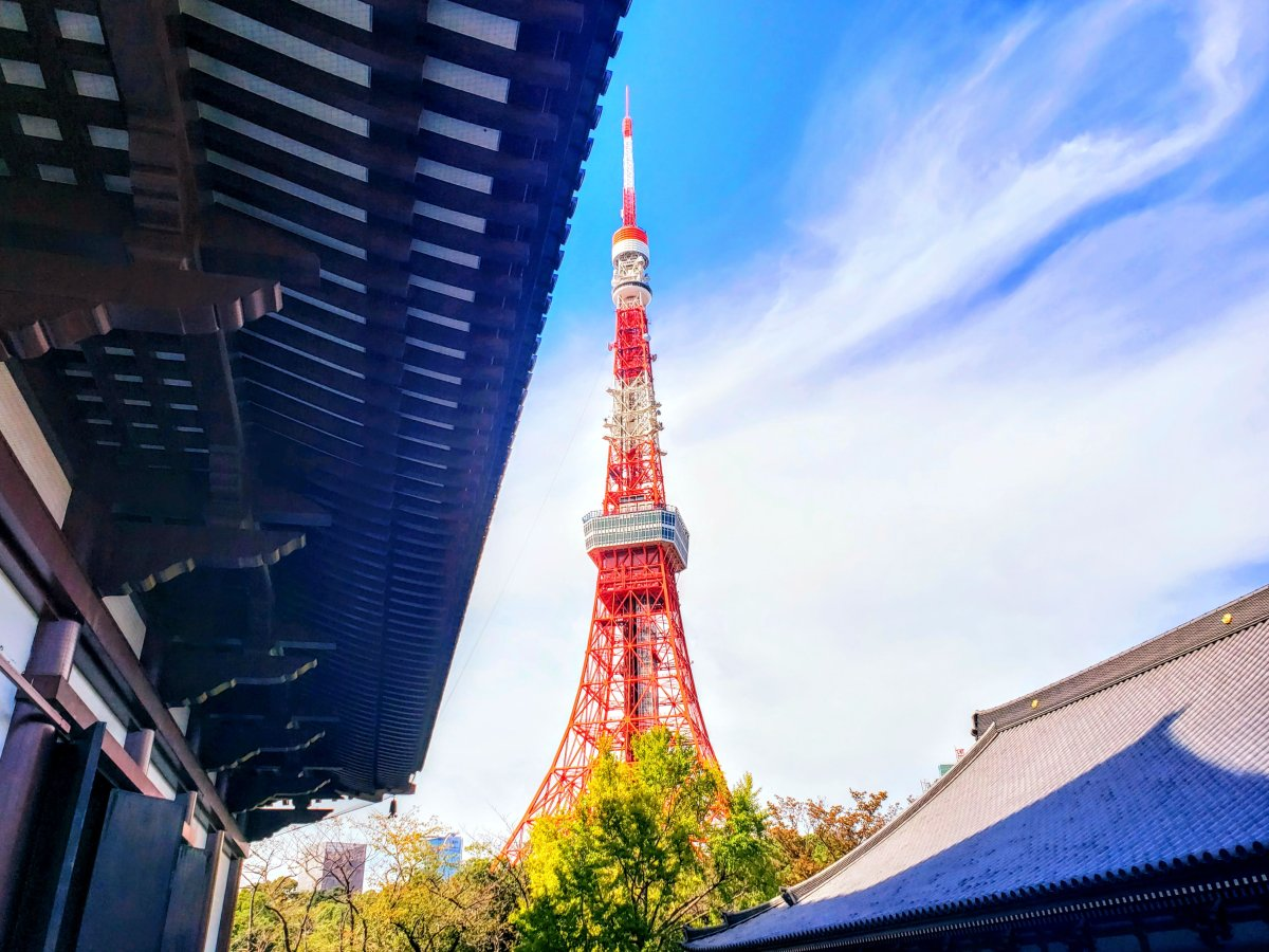 tokyo tower daimon station
