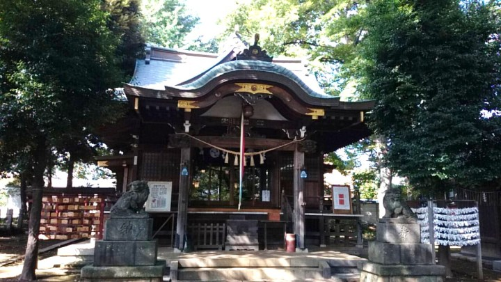 The shrine is regarded as so uninteresting that people just take crap photographs of it like this.