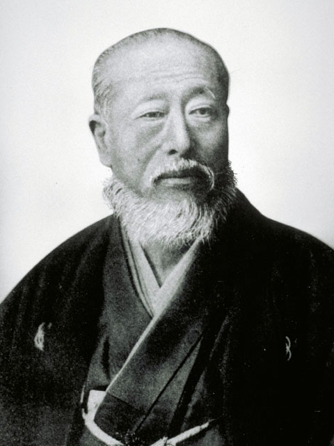 People in the 1800's found out some ways make beards creepy and the Japanese copied them.