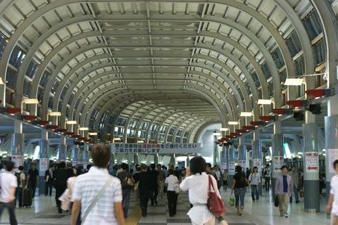 shinagawa station inside