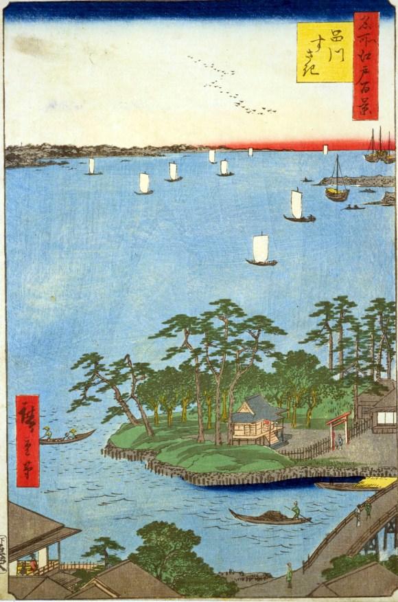 hiroshige shinagawa susaki