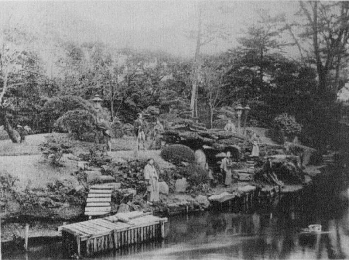 Oji teahouse garden