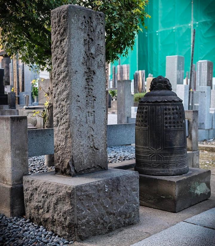 matsuri sashichi grave in aomonoyokocho
