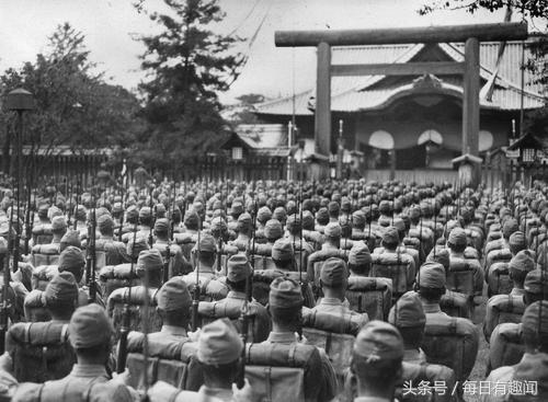Yasukuni Shrine in WWII
