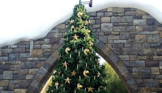 ハリーポッター・ホグズミード村のクリスマスツリー HARRY POTTER・HOGSMEADE CHRISTMAS TREE・USJ