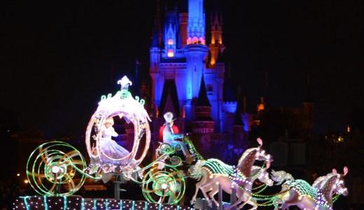 👗★シンデレラ★字幕 A Dream is a Wish Your Heart Makes♪ ディズニーランド・エレクトリカルパレード