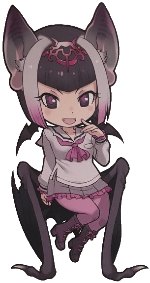 Common Vampire Bat Japari Library The Kemono Friends Wiki