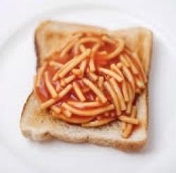 スパゲティトースト