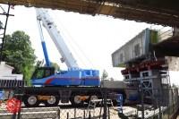 Sensitive spot big scale high way construction, Kenoudou accross Shinkansen. (25)