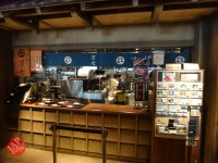 New Japanese historical town on the highway with traditional foods, Hanyu parking (11)