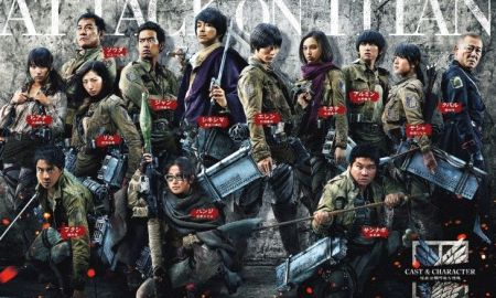 Attack on Titan Live Action Movie Cast