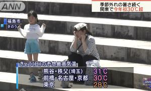Be careful of Heatstroke as the season becomes hotter