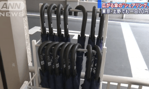 TOKYO: Sharing Umbrellas