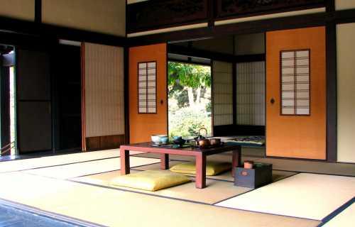 panneaux coulissants japonais