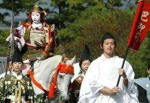 Festival Jidai Matsuri, celebrado en octubre en Kioto