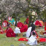 El kyokusui no utage, un refinado entretenimiento medieval japonés