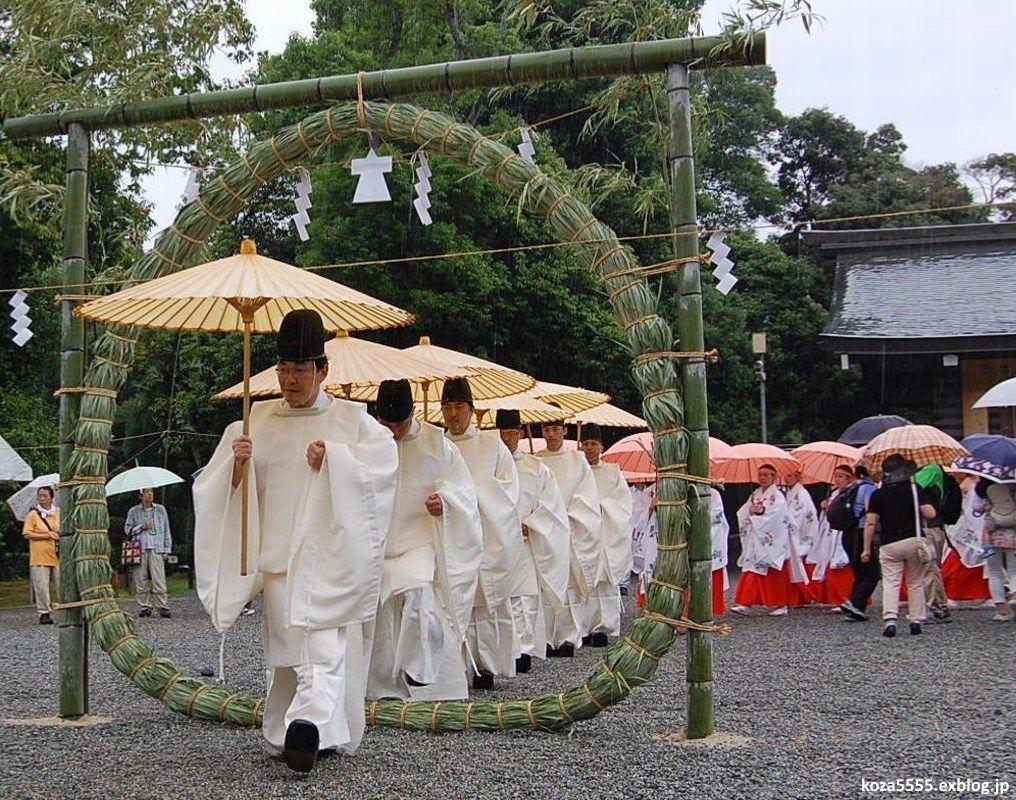 Nagoshi No Harae, la purificación del solsticio de verano