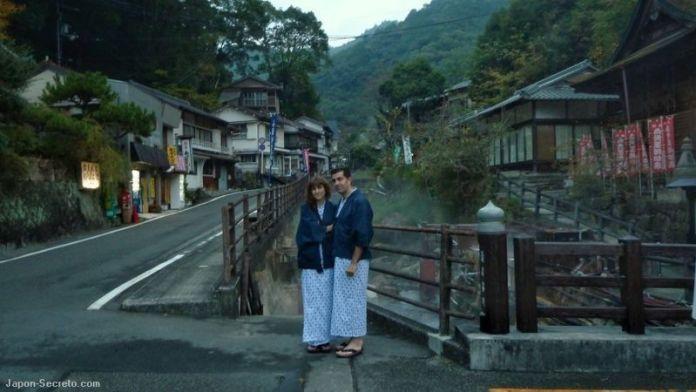 Yunomine Onsen (Camino de Kumano o Kumano Kodo, prefectura de Wakayama)