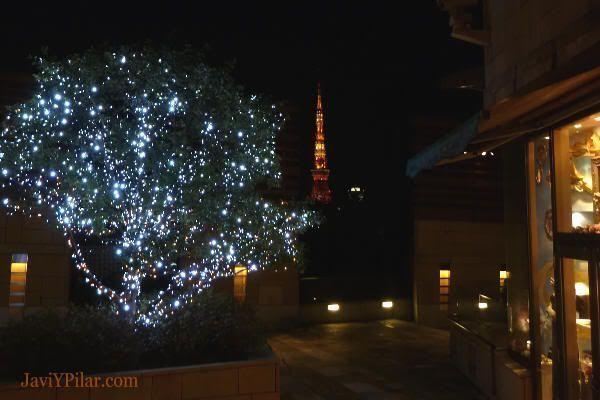 Iluminación navideña en Roppongi Hills (Tokio, noviembre 2010)