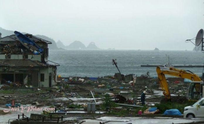 El terrible tsunami que azotó la costa nororiental de Japón en marzo de 2011