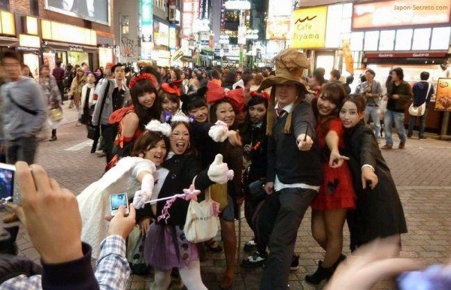 Halloween en Tokio: Shibuya 2011