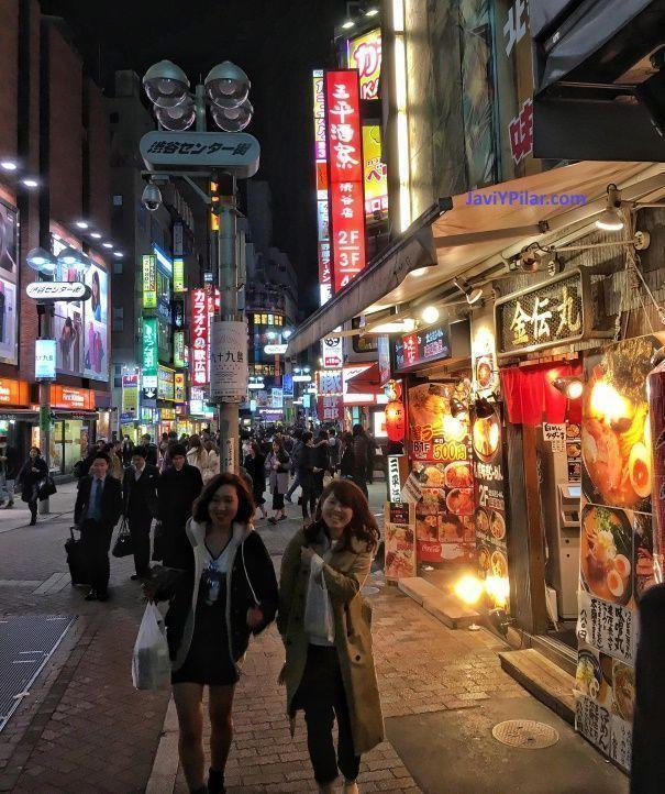 Japón baratísimo. De juerga por Shibuya (Tokio)