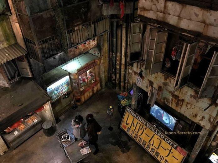 El estilo cyberpunk de la sala Anata No Warehouse de Kawasaki