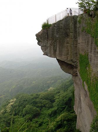 "Excursión desde Tokio. Monte Nokogiri: Jigoku Nozoki (地獄覗き) o ""mirada furtiva al infierno"""